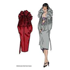 Cloak Sewing Pattern Classy 48 Shirred Cape From Great Gatsby Era In Sizes S M And L 48