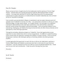 Cover Letter For Teaching Assistant Best Teacher Cover Letters Cover New Teacher Cover Letter Elementary