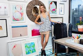 Office makeover ideas Desk One Kings Lane Ideas To Steal From Our Whitney Port Office Makeover