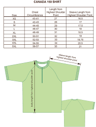 Uniform Advantage Size Chart Size Charts For Products Projoy Sportswears And Apparel