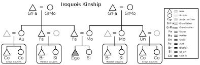 Anthropology Kinship Chart Iroquois Kinship Wikipedia