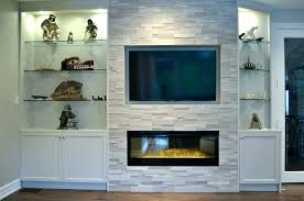 electric fireplace wall unit built in units into fireplaces