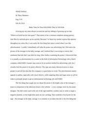 essay what is your greatest fear them to do something do  2 pages essay make time for your kids