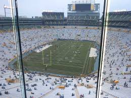 Detailed Seating Chart For Lambeau Field Lambeau Field View From Indoor Club 678 Vivid Seats