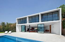 simple modern house. Simple Modern House Design Front And In Triangle Site Home H