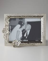 white orchid 5 x 7 photo frame