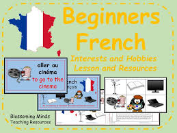 Interests Amp Hobbies French Lesson And Resources Ks2 Hobbies And Interests By