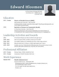 Word Resumes Templates Classy best free resume templates for word Kubreeuforicco