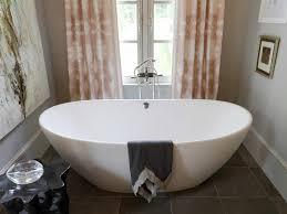 ... Bathtubs Idea, Oversized Bathtub Freestanding Bathtubs Classy Large  Freestanding Bathtub In Oval Shape Affordable Freestanding ...