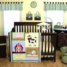 farm crib bedding set farm animal baby room farm animals barn yard patchwork uni nursery 3