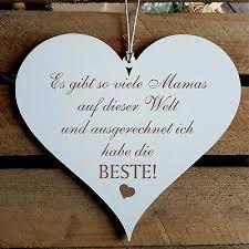 Schild Herz Beste Mama Mit Spruch Geschenk Muttertag Frauentag