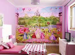 Excellent Decorating Ideas For Toddler And Little Girls Bedroom : Beautiful  Pink Color Scheme And Princess
