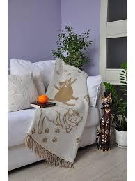 """<b>Плед</b> """"<b>Cats</b>"""", 140х200 VLADI 2953925 в интернет-магазине ..."""