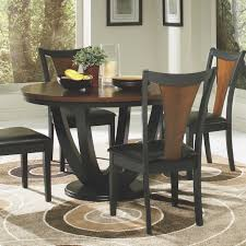 round dining room set. Amazon.com - Coaster Boyer Standard Height Table, Black And Cherry Table \u0026 Chair Sets Round Dining Room Set R