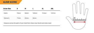 Bowling Glove Size Chart Glove Size Measurements For Perfectly Fitted Dents Gloves