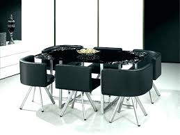 glass dining room table and chairs sets for 6 round chair set tables top se