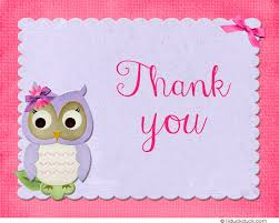 Shower Thank You Card Verse Ideas  Shower Party ThemesOwl Baby Shower Thank You Cards