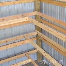 diy corner shelves for garage or pole barn storage adorable shelf pleasing 10
