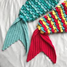 Crochet Crocodile Stitch Mermaid Tail Pattern