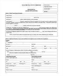 Download Rental Application Form For Free Rental Application Rental