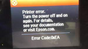 Fix Epson Error 0xEA + Scratching Sound - Not a Paper Jam Situation -  YouTube