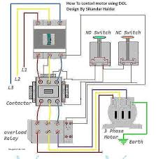 three phase contactor wiring diagram beautiful how to wire 3 phase 3 phase panel board wiring diagram at 3 Phase Circuit Breaker Wiring Diagram