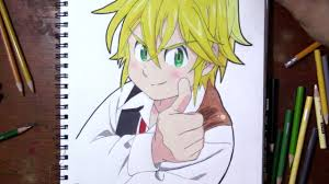 Complete details of ssr red meliodas (lostvayne) in the seven deadly sins: How To Draw Meliodas Seven Deadly Sins Youtube