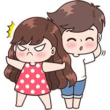 Cute Couple Png Boobib Cute Couples Vol 4 Line Stickers Line Store