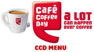 Ccd Menu With Price Cafe Coffee Day Menu With Price
