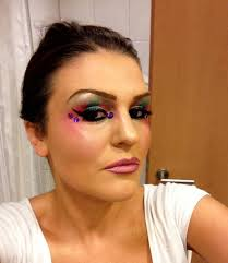 80 s makeup