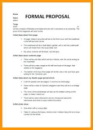 Simple Proposal Template Allurepaper Co