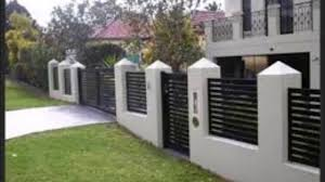 Small Picture Amazing wall fence designs 2 YouTube