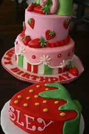 9 Best Strawberry Shortcake Theme Cake Images Strawberry Shortcake