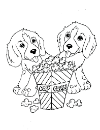 Prairie Dog Coloring Page Printable Dog Coloring Pages Dogs Coloring