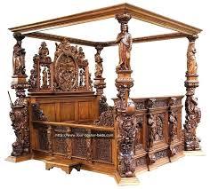 antique wooden bed frame 4 poster king frames best four beds ideas on canopy uk antique wooden bed frame