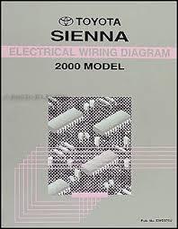 cheap wiring diagram manual wiring diagram manual deals on get quotations · 2000 toyota sienna van wiring diagram manual original