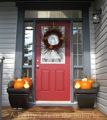 Outdoor Decorating For Fall Fall Porch Decorating Ideas A Pretty Life In The Suburbs