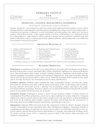 Academic Resume Template For Grad School Resume Template For Impressive College Application Resume