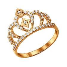 Обзоры модели <b>SOKOLOV Позолоченное кольцо корона</b> ...