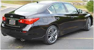 infiniti 2015 q50 black. 34 rear shot infiniti 2015 q50 black
