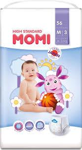<b>Подгузники</b>-<b>трусики Momi High</b> Standard, размер M, 6-11 кг, 56 шт ...