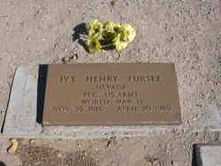 PFC Ivy Henry Pursel (1916-1969) - Find A Grave Memorial