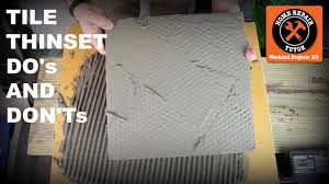 thinset for tile do s and don ts quick tips with sal diblasi you