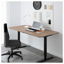 small office desk ikea stand office. Desk For Office Elegant 7032 BEKANT Sit Stand Black Brown White IKEA Small Ikea T