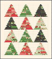 Quilt Inspiration: Free pattern day: Christmas quilts (part 1): Trees! & Patchwork Forest quilt tutorial by Amy Smart at Diary of a Quilter Adamdwight.com
