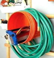 garden hose reel holder stake free standing liberty cart canada parts