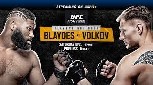 UFC Fight Night on ESPN: Blaydes vs ...