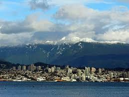 نتیجه تصویری برای کوهای ونکوور