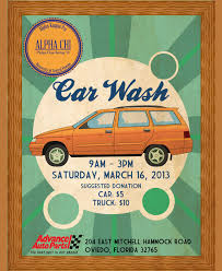 Youth Car Wash Flyer – Palaeos Flyers