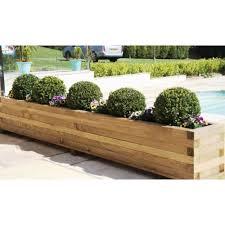 medium crop of large outdoor planters